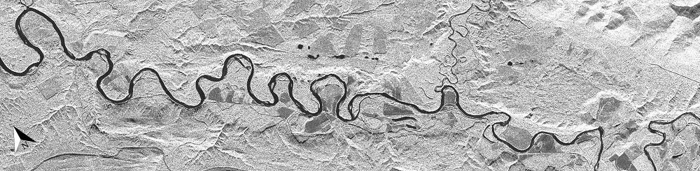Fraser River SAR image