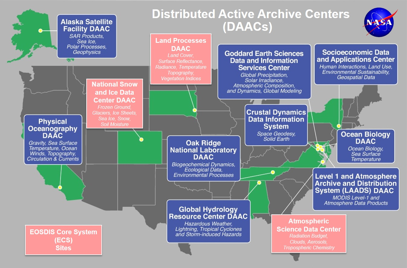 Data Center Map