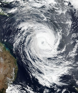 Tropical Cyclone Oma Australia - Small