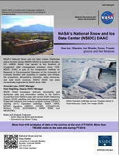 NSIDC DAAC one pager