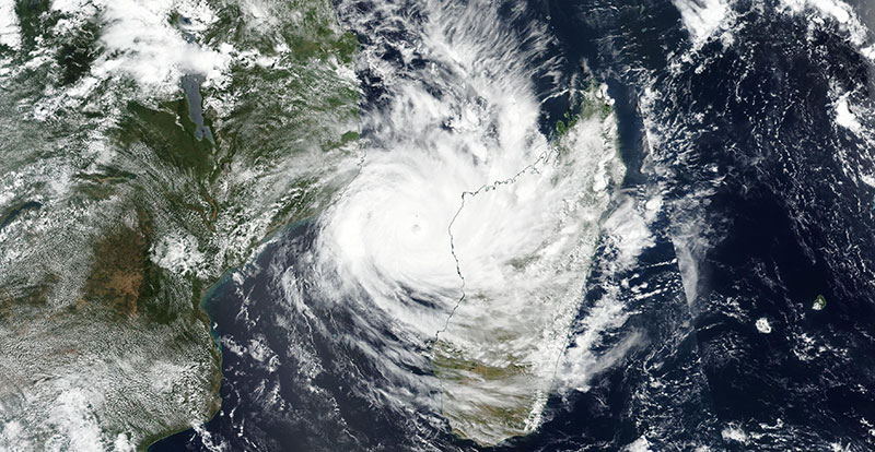 Tropical Cyclone Idai on 11 March 2019 (Suomi-NPP/VIIRS)