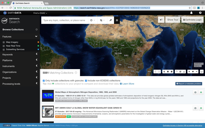 Earthdata Login API 3
