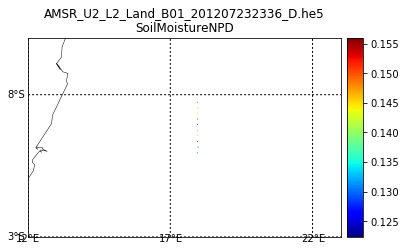 NSIDC AMSR HDF-EOS5 OPENDAP 2
