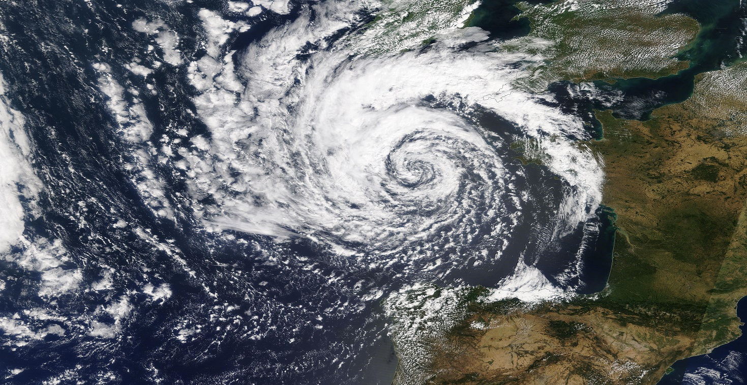 Deep Cyclone Bay of Biscay