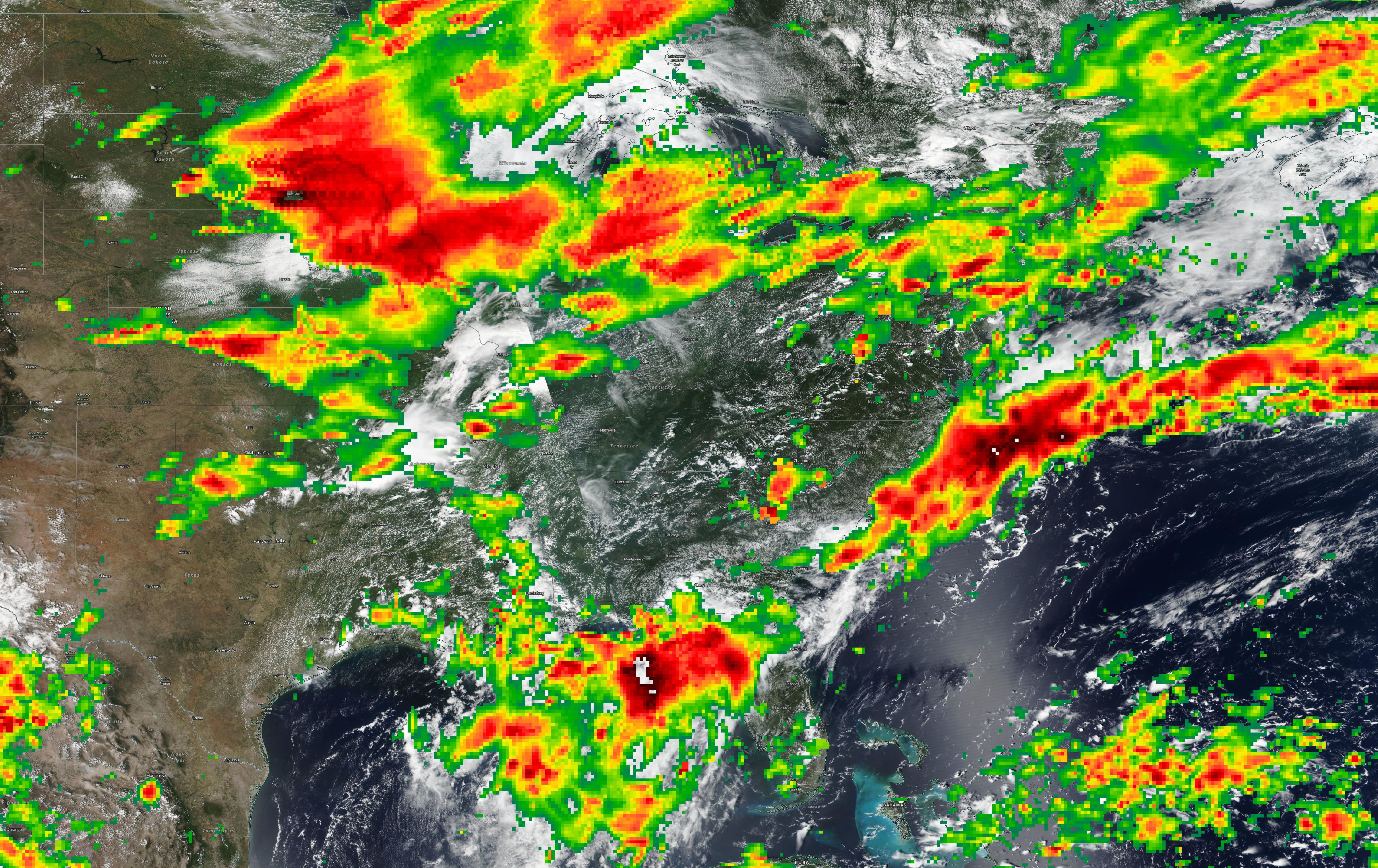 Severe Storms US Worldview