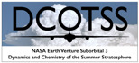 Logo of NASA's Dynamics and Chemistry of the Summer Stratosphere