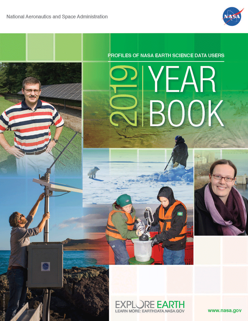 2019 Data User Profile Yearbook- Cover Image