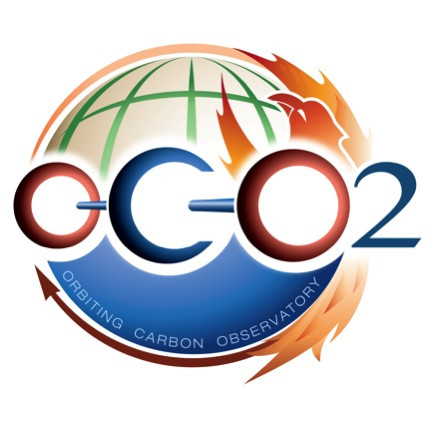 Letters O-C-O and the number 2 horizontally over a stylized globe with the words