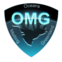 Logo for the Oceans Melting Greenland mission
