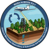 Logo for Airborne Microwave Observatory of Subcanopy and Subsurface Project