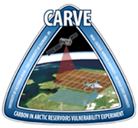 Logo for the Carbon in Arctic Reservoirs Vulnerability Experiment