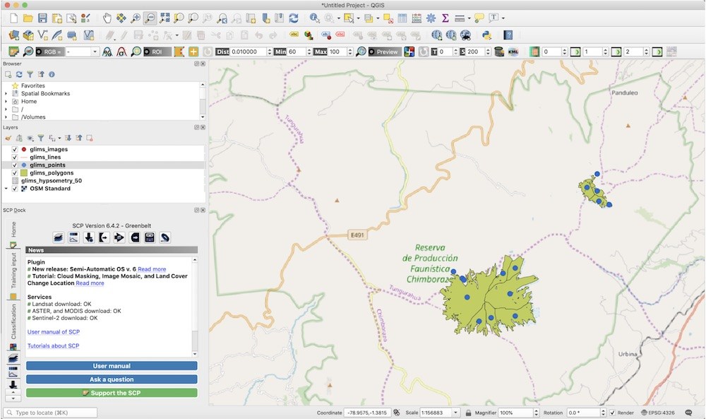 Visualizing vector data in QGIS