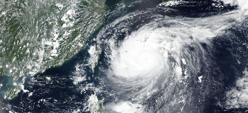Typhoon Maysak on 31 Aug 2020 (Suomi NPP/VIIRS)