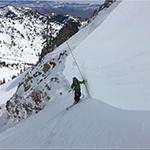 Measuring snow depth