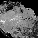 SMAP Radar Mosaic of the Amazon