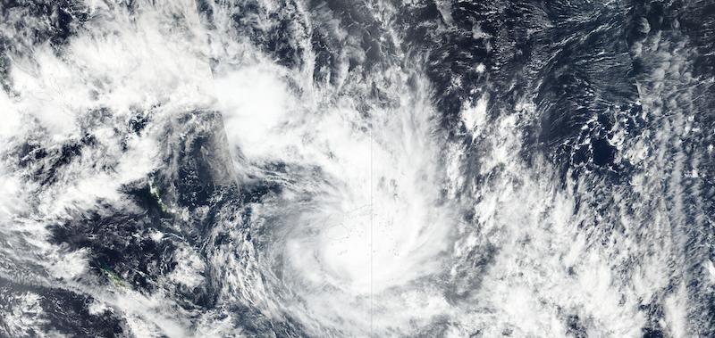 Tropical Cyclone Ana on 31 January 2021 (Sumi NPP/VIIRS)