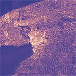 Urban heat island of Buffalo, New York as observed by Landsat 7 ETM+