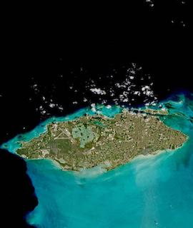 Nassau, New Providence Island, Bahamas on 18 March 2021 (Sentinel 2A & B/MSI) - Feature Grid
