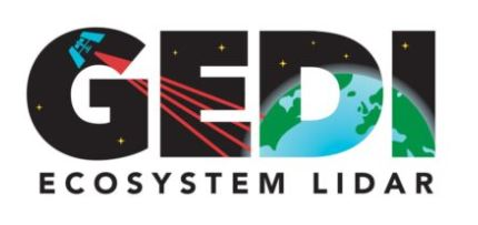 This is the logo for the GEDI mission