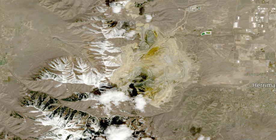 Bingham Canyon Mine April 26 2021