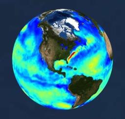 PO.DAAC Icon Ocean Heat Budget