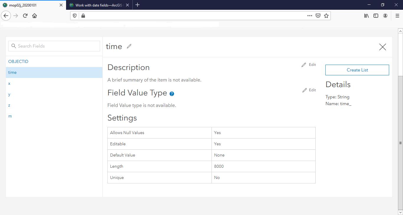 Portal Edit Data Field
