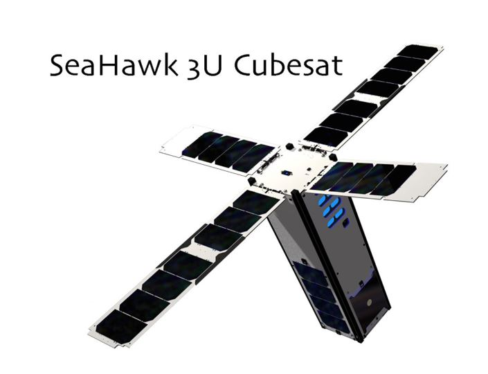 Image of the SeaHawk Cubesat