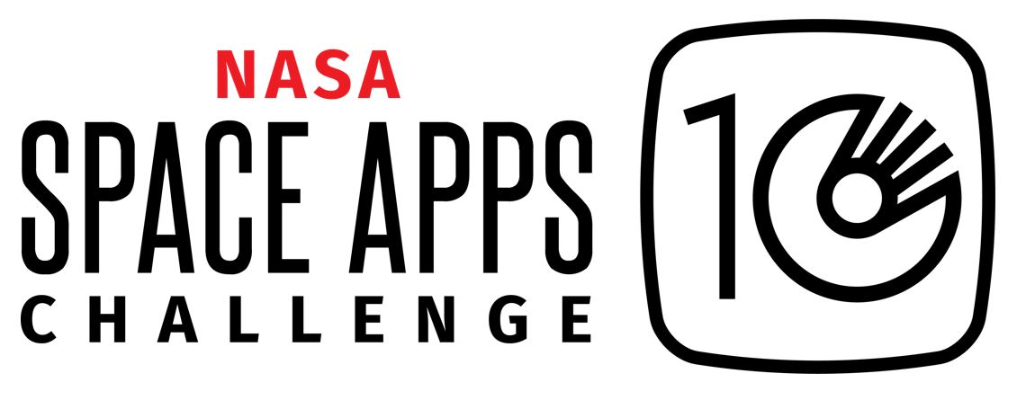 The logo for the 10th anniversary NASA Space Apps Challenge