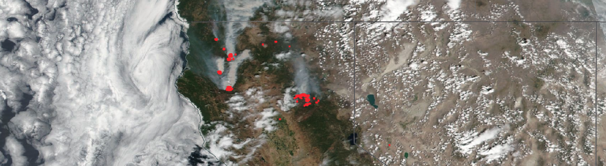California fires 2nd August 2021