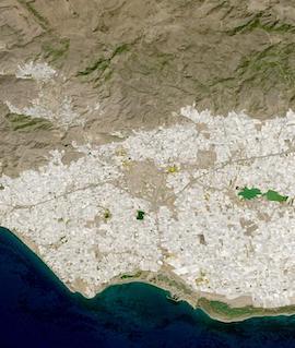 Poniente Almeriense, Almeria, Spain on 18 September 2021 (HLS: OLI/Landsat 8) - Feature Grid