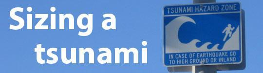 Sizing a tsunami - SOP 2013