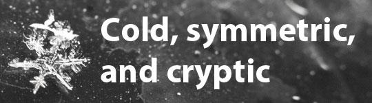 Cold, symetric, and cryptic - SOP 2013