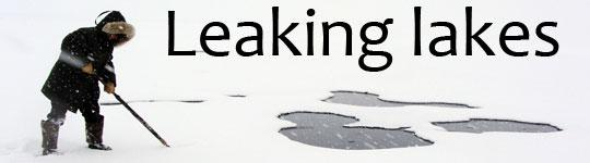 Leaking lakes - SOP 2012
