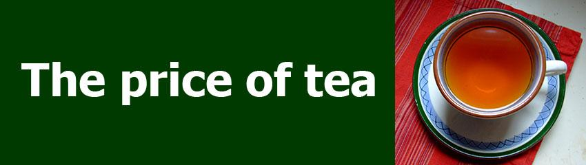 The price of tea header