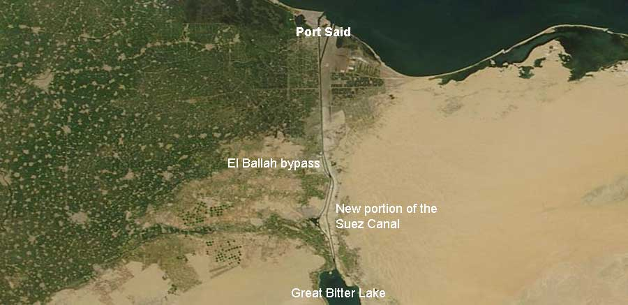 Expansion of the Suez Canal, Egypt