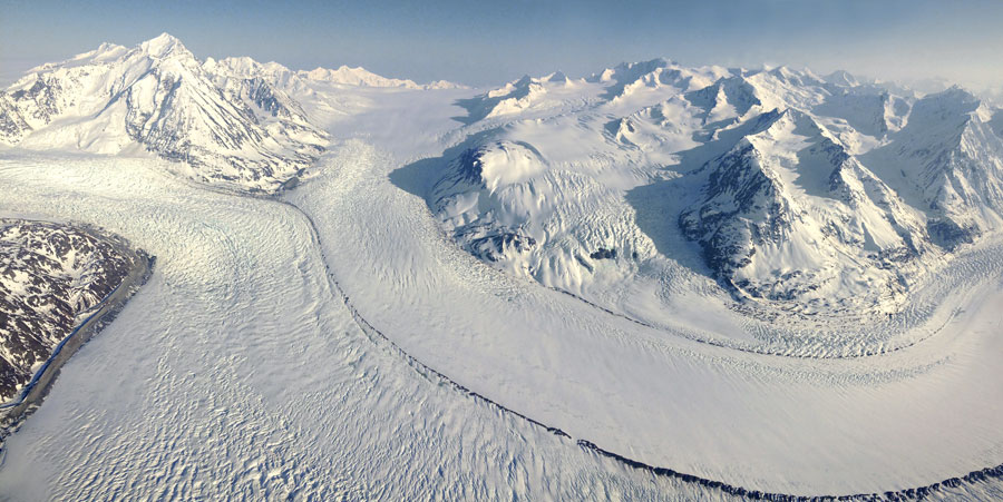Photograph of Knik Glacier, Alaska