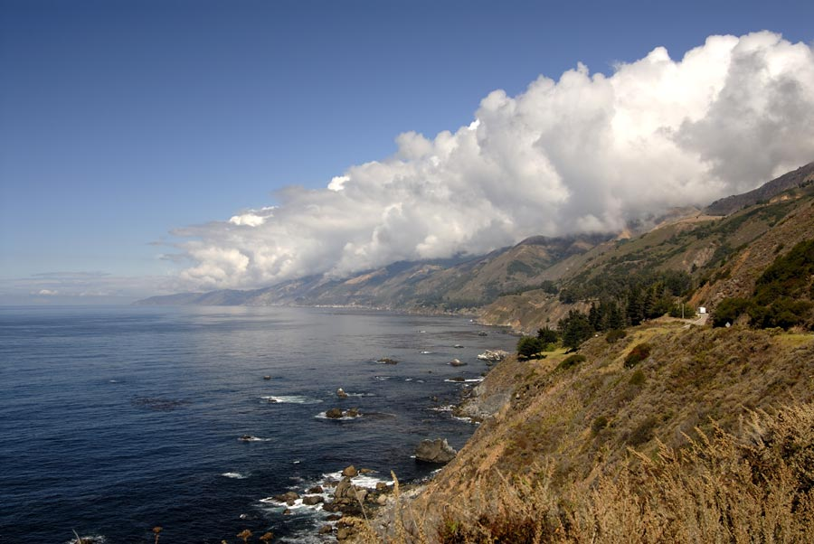 Photograph of the Big Sur Coast, California