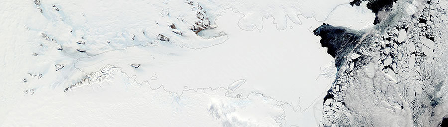 Lambert Glacier and the Amery Ice Shelf, Antarctica - feature page