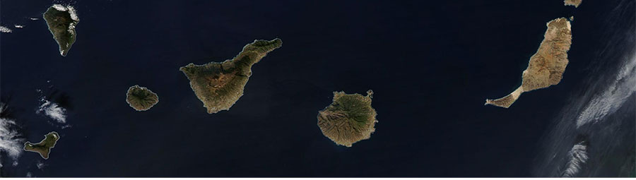 Canary Islands - feature grid