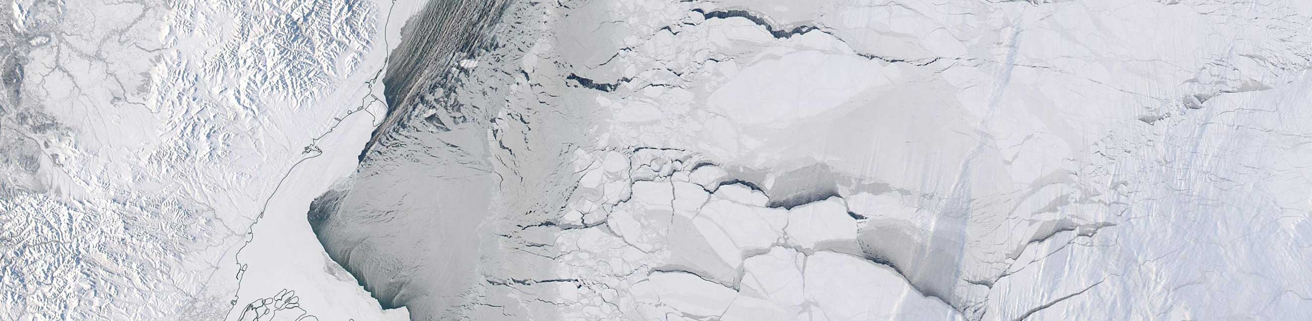 Sea Ice in the Beaufort Sea - feature grid