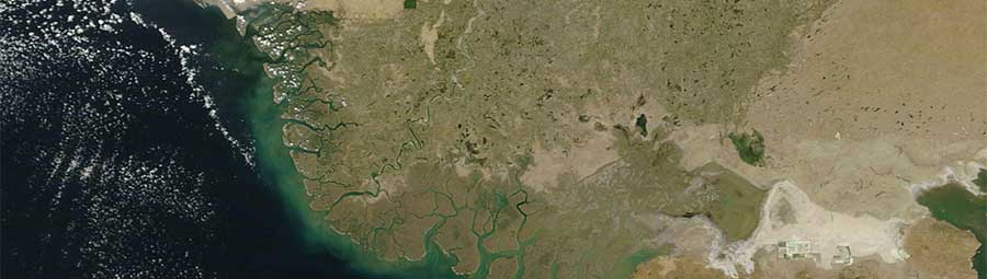 Indus River Delta - feature page