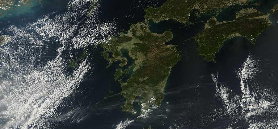 Kyushu Island, Japan