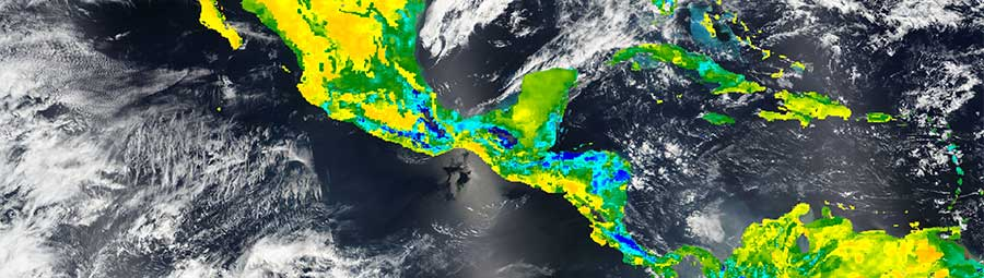 Surface Soil Moisture in Central America - feature page