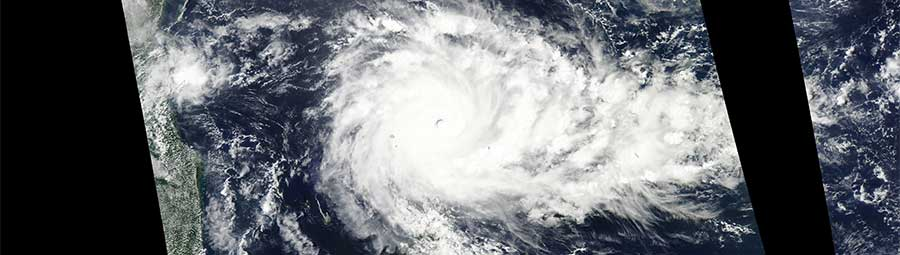 Tropical Cyclone Fantala - feature page
