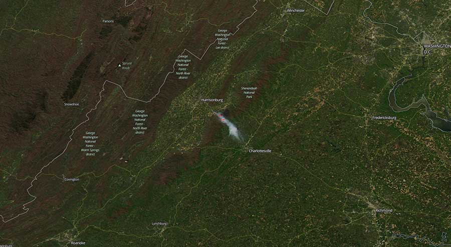 Rocky Mount Fire, Virginia