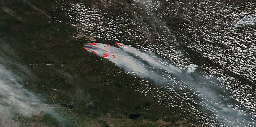 Fires in Fort McMurray, Canada