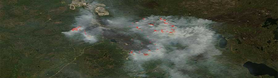 Fort McMurray fires 15 May Terra