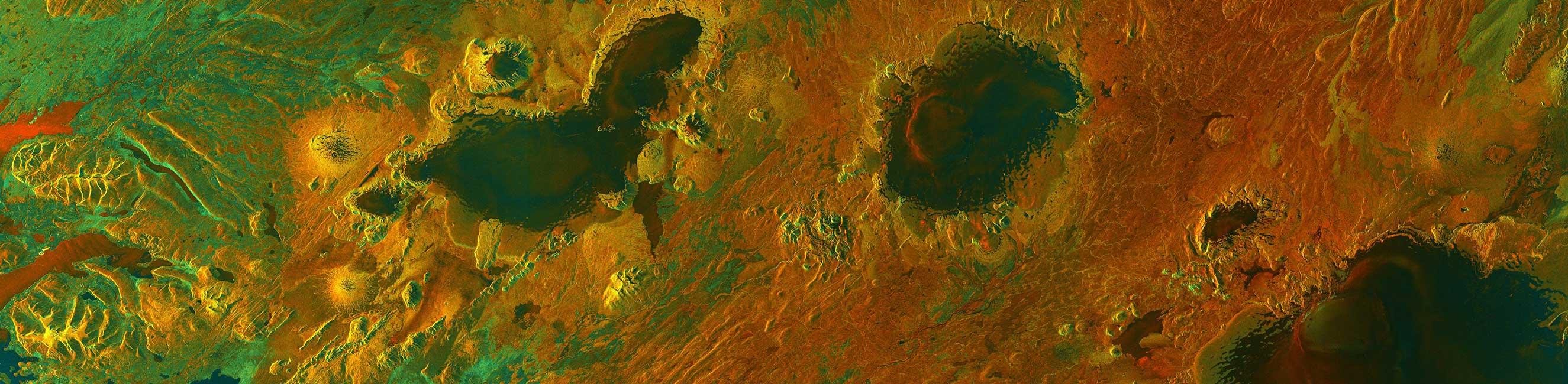 Sentinel-1A Iceland image