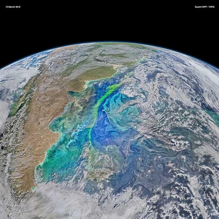 Patagonian Ocean Color