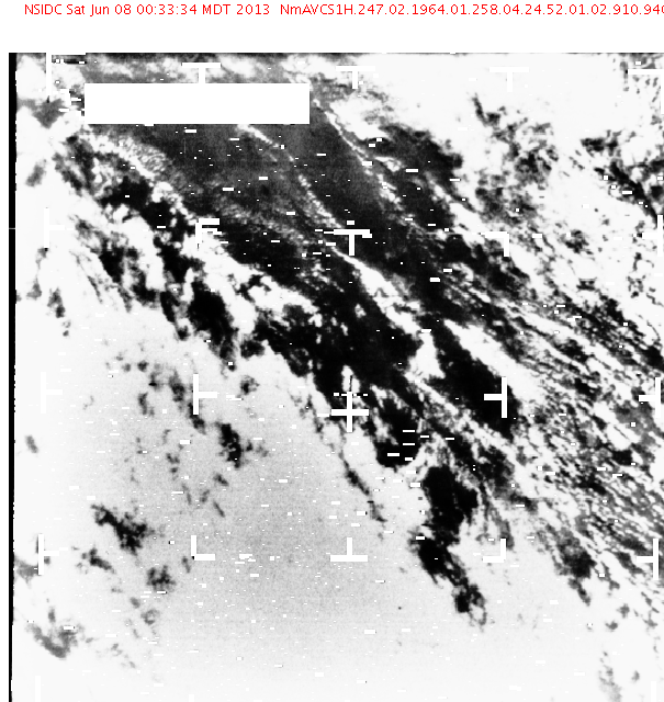 Nimbus I polar image